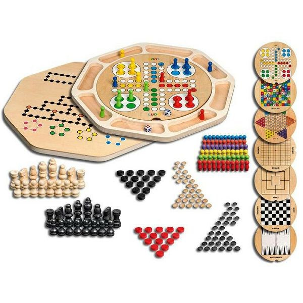 Wooden Game Compendium 9