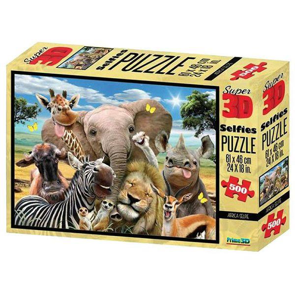 Africa Selfie 3D Puzzle