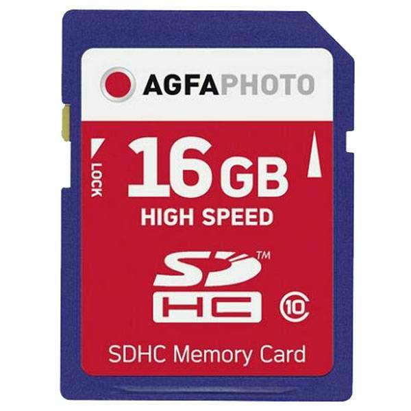 AgfaPhoto SDHC 16GB High Speed Class 10 UHS I