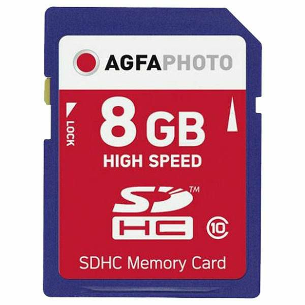AgfaPhoto SDHC 8GB High Speed Class 10 UHS I