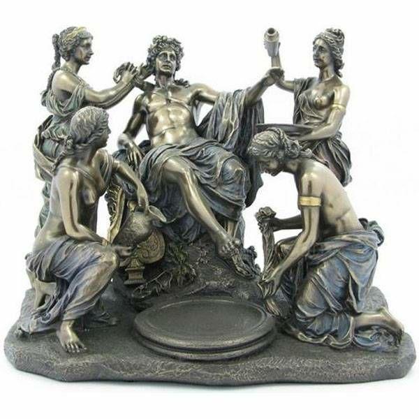 Apolon i nimfe Francois Girardon 28 x 24 cm