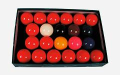 Aramith snooker set 52.4 mm
