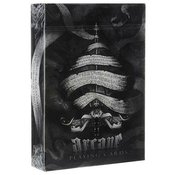 Arcane Playing Cards Black