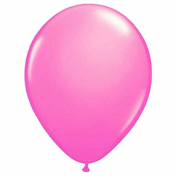 Baloni Qualatex pink 28 cm 100 kom.