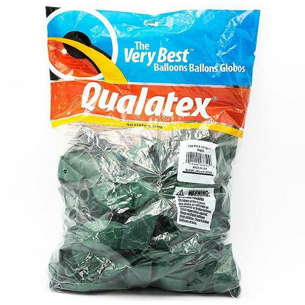 Baloni Qualatex zeleni 28 cm 100 kom.