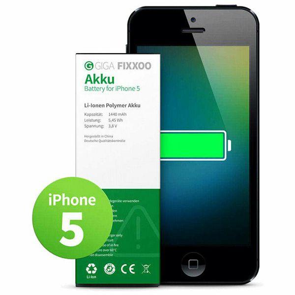 Baterija iPhone 5 GIGA Fixxoo