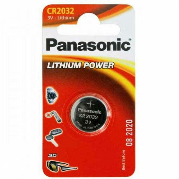 Baterija Panasonic CR 2032 Lithium Power
