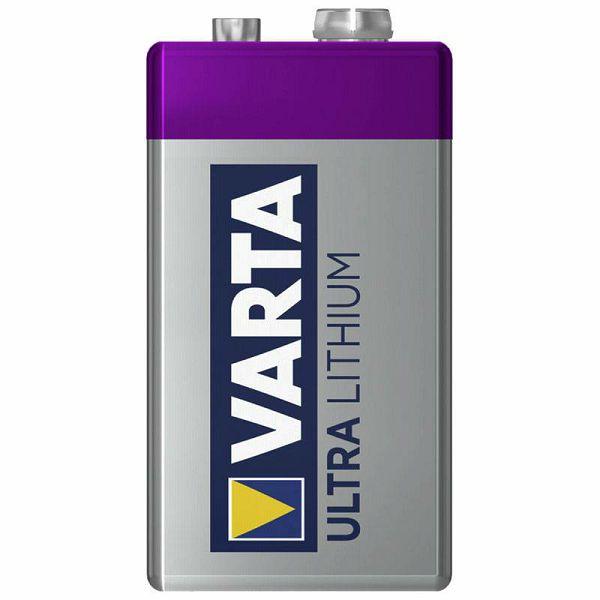 Baterija Varta Ultra Lithium 9V-Block 6 LR 61