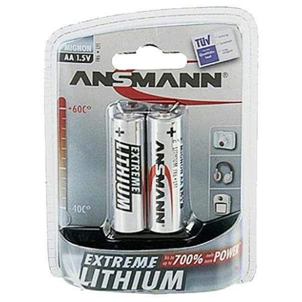 Baterije 1x2 Ansmann Lithium Mignon AA Extreme