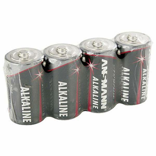 Baterije 1x4 Ansmann Alkaline Baby C LR 14 red-line