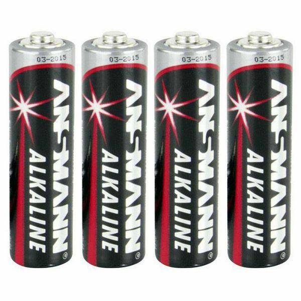 Baterije 1x4 Ansmann Alkaline Mignon AA red-line