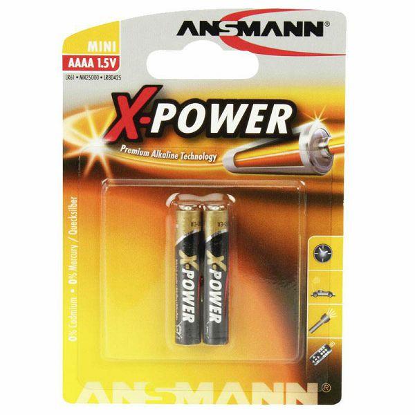 Baterije Ansmann 1x2 Alkaline AAAA X-Power