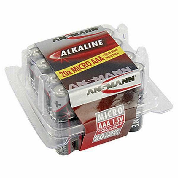 Baterije Ansmann 1x20 Alkaline Micro AAA LR 03