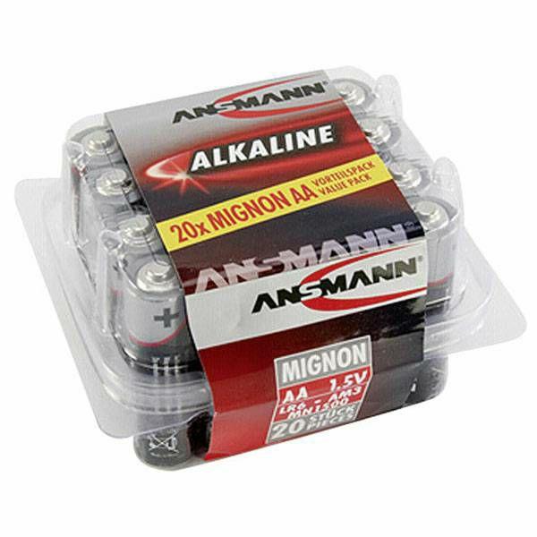 Baterije Ansmann 1x20 Alkaline Mignon AA LR 6
