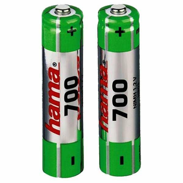 Baterije NiMH 2x AAA 700 mAh 1.2V 56801