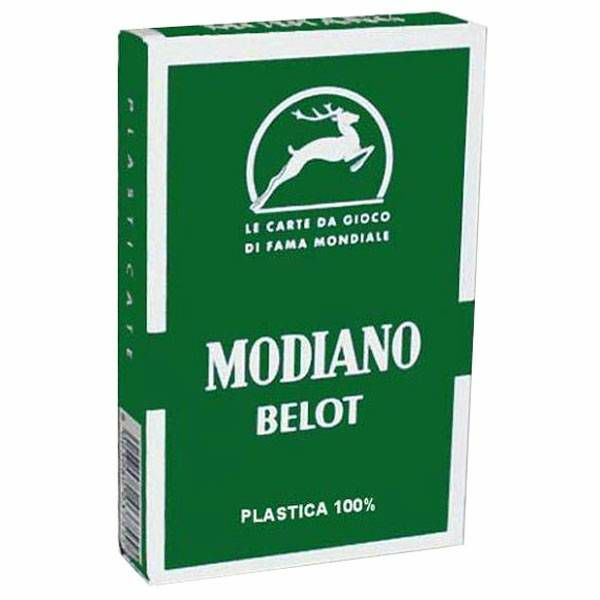 Belot Modiano 100% plastika