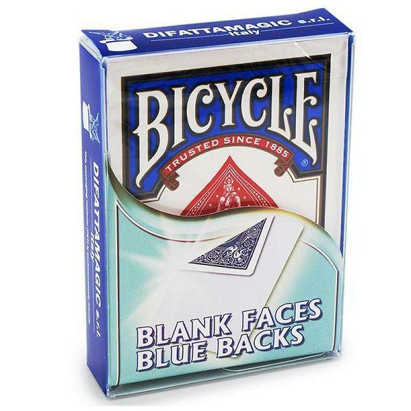 Bicycle Blank Face & Blue Back