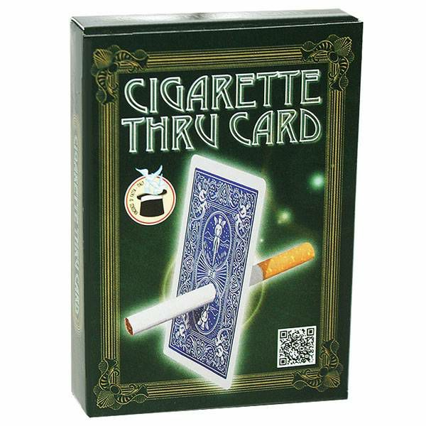 Bicycle Cigarette through card Blue