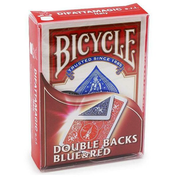 Bicycle Double Back blue & red