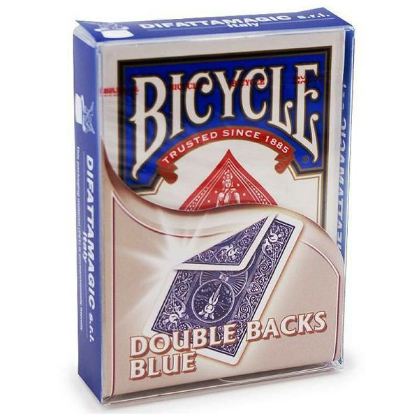 Bicycle Double Back Blue & Blue
