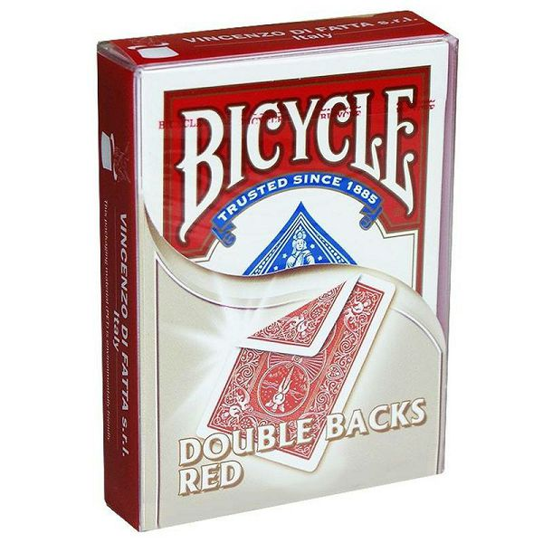 Bicycle Double Back Red & Red