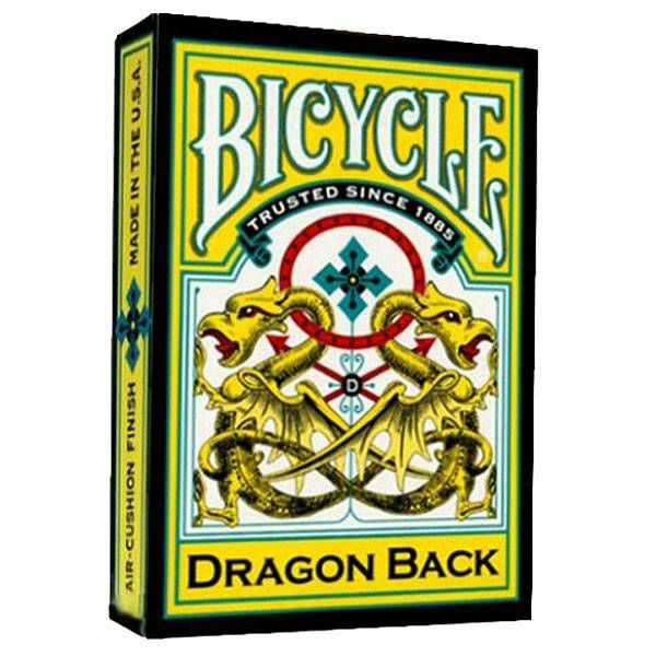 Bicycle Dragon Back yellow