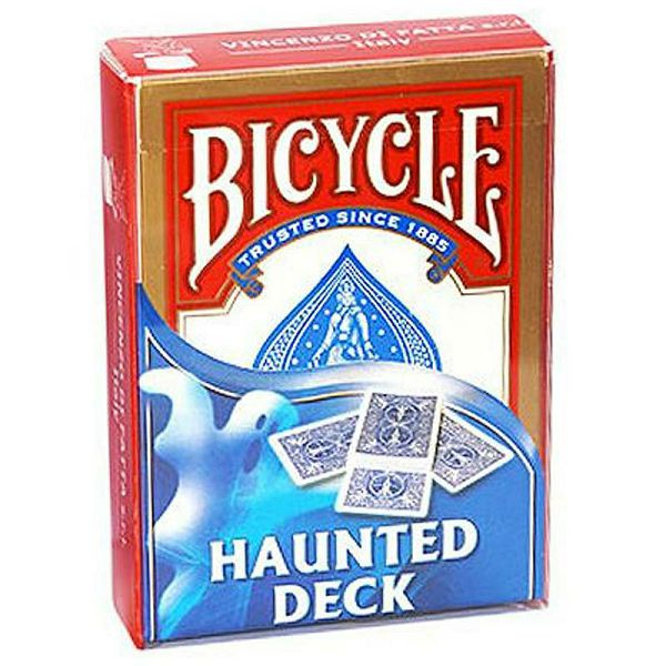 Bicycle Haunted Deck Red