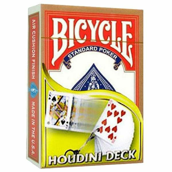 Bicycle Houdini Deck Red