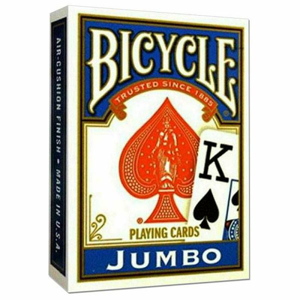 Bicycle Jumbo Rider Back Blue