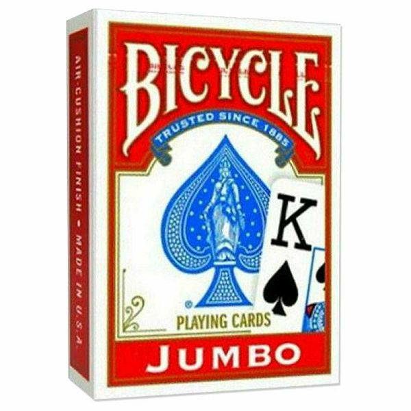Bicycle Jumbo Rider Back Red