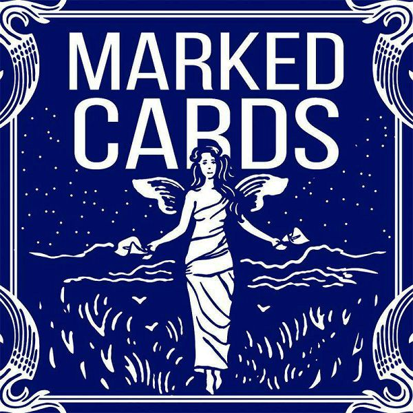 Bicycle Marked Deck Blue Back