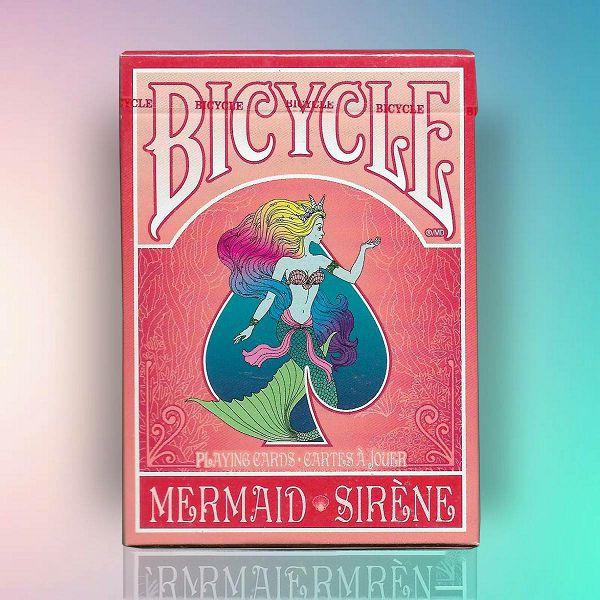 Bicycle Mermaid Red