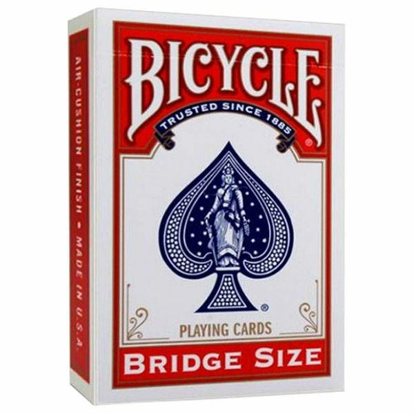 Bicycle Rider Back Bridge Red