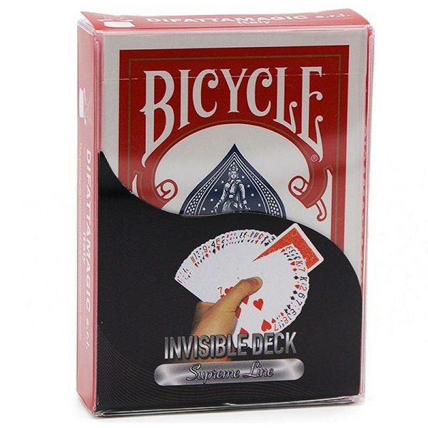 Bicycle Supreme Line Invisible Red