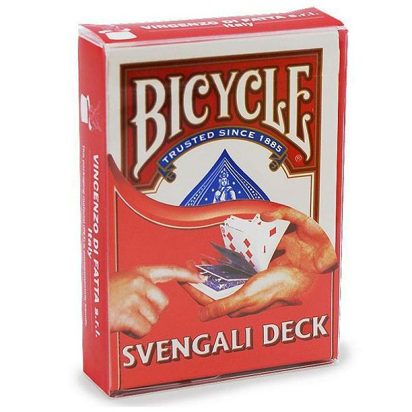 Bicycle Svengali Deck Red