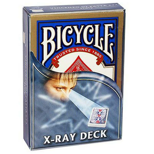 Bicycle X Ray Deck Blue