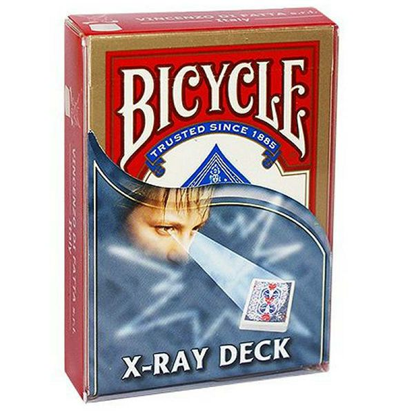 Bicycle X Ray Deck Red