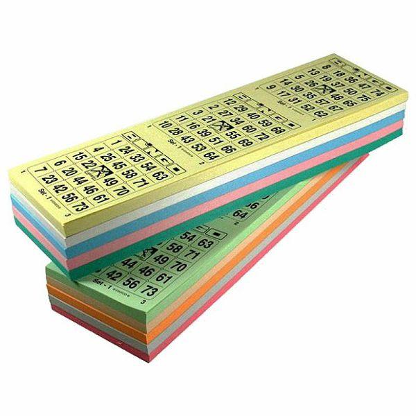 Bingo kartice 1-75 pakiranje 1 x 20 x 1500