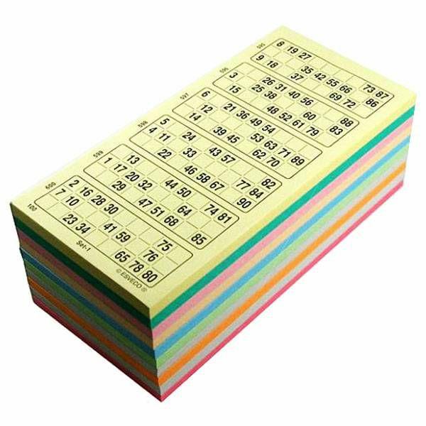 Bingo kartice 1-90 10-100-10CP