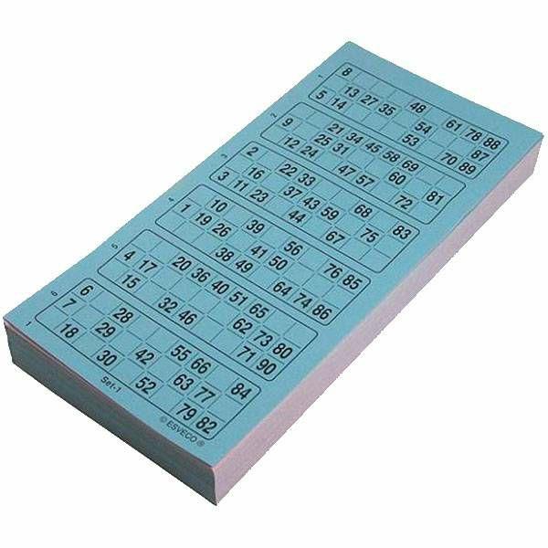 Bingo kartice 1-90 600 komada