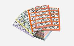 Bingo kartice 1-90 750 komada