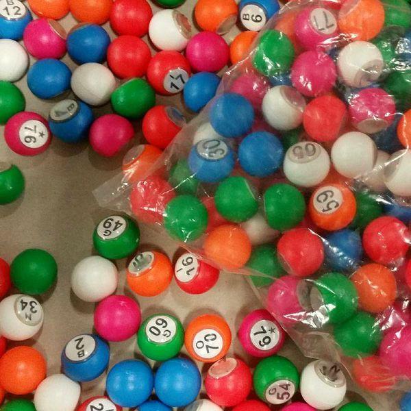 Bingo loptice 1-90 18 mm