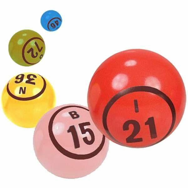 Bingo loptice 1-90 38 mm