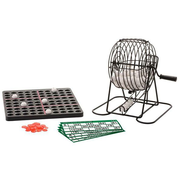 Bingo Set 20 cm 1-90