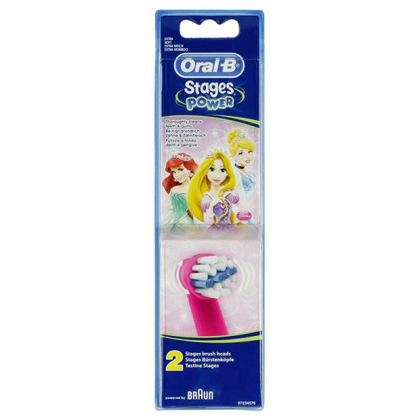 Braun Oral-B extra brushes Stages Power