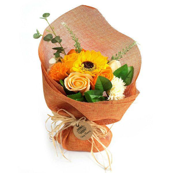 Buket cvijeća od sapuna - Orange