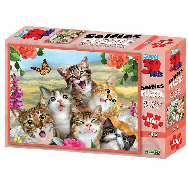 Cat Selfie 3D Puzzle