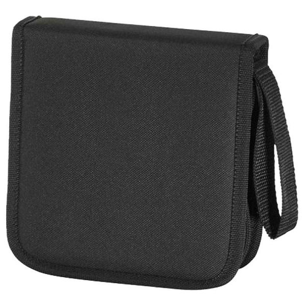 CD-DVD Nylon Wallet 32 black 11615