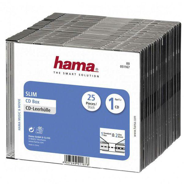 CD kutije 25 komada 51167