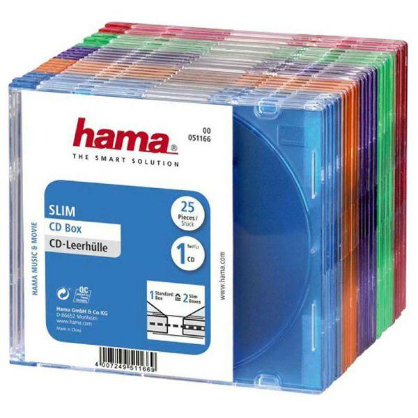 CD kutije 25 komada Coloured 51166